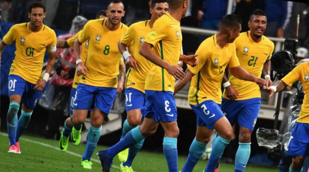 seleccion brasil mundial 2018